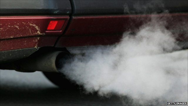 Car fumes