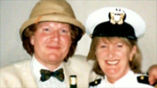 Bruce Scott and Lesley Norris