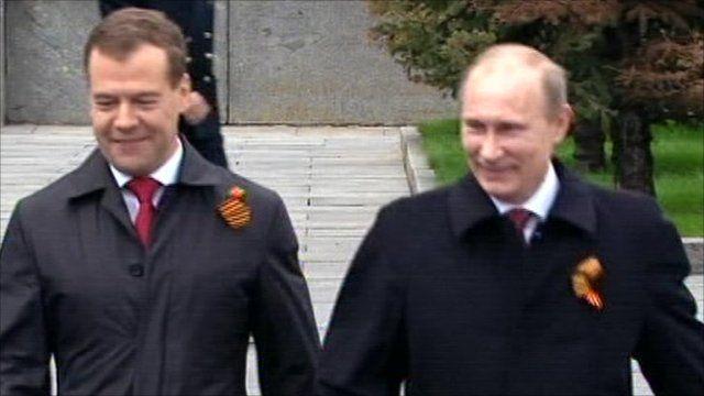 President Medvedev and Prime Minister Putin
