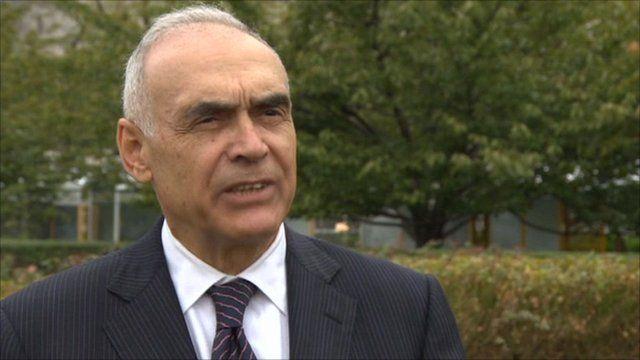 Egypt's foreign minister, Mohamed Kamel Amr