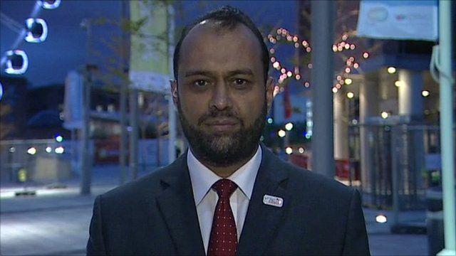 Chief executive of Victim Support Javed Kahn