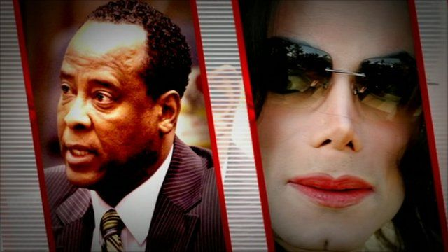 Conrad Murray and Michael Jackson