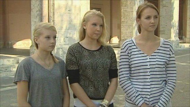 Amanda Knox's sisters