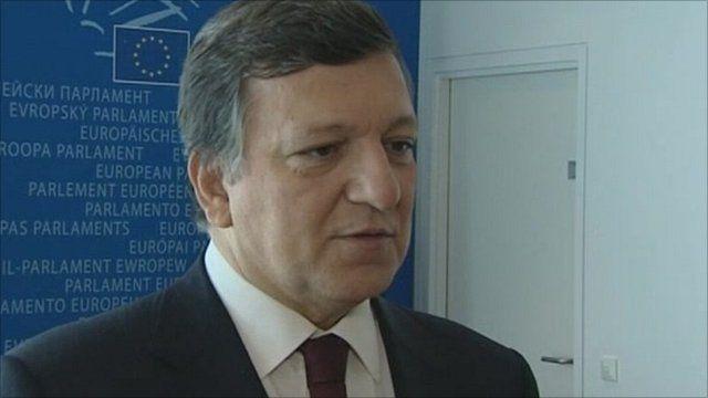 Commission President Jose Manuel Barroso