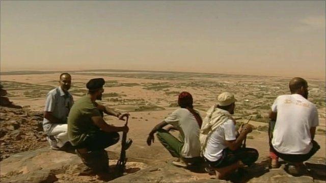 Desert in Ubari