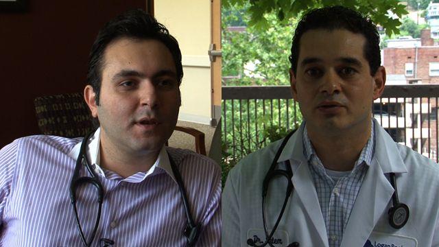 Doctors Salem and Afram