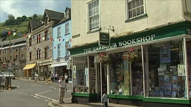 The Harbour Bookshop in Dartmouth