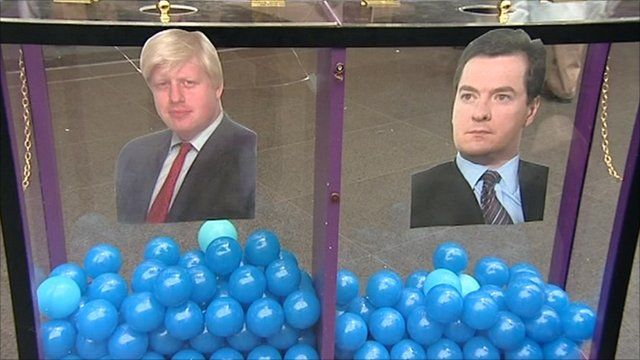 Mood box with Boris Johnson and George Osborne
