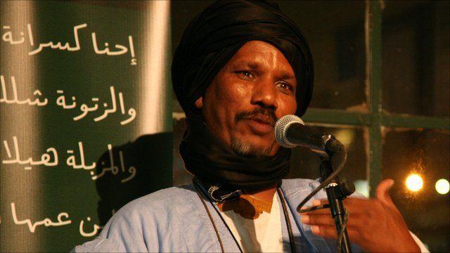 Mauritanian storyteller Yahya Rajel