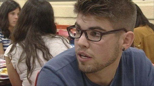 Student at Madrid's Complutense University
