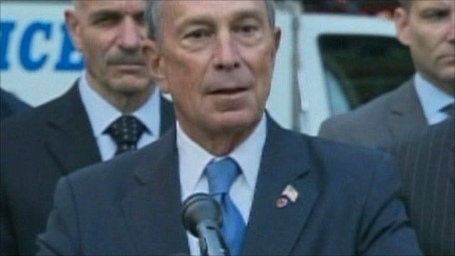 Mayor of New York Michael Bloomberg