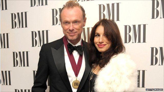 Gary Kemp and his wife Lauren