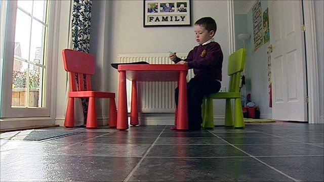 Jack Henderson sitting at a table