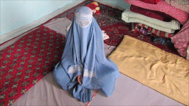 Zahar, a young Afghan widow