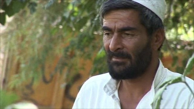 Ghulam Jilani is a farmer close to the eastern city of Jalalabad