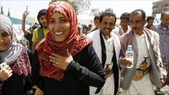 Yemeni winner of the Nobel Peace Prize, Tawakul Karman