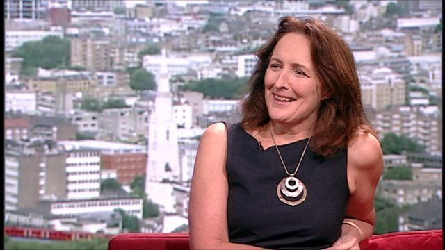 Fiona Shaw on The Andrew Marr Show