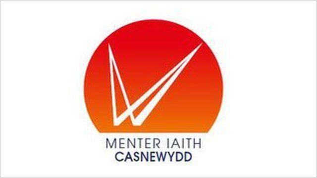 Logo Menter Iaith Casnewydd