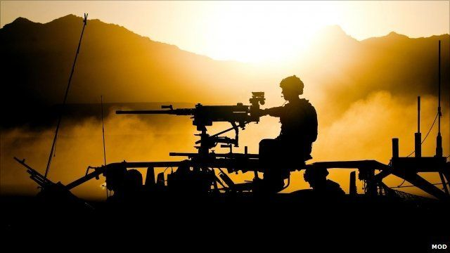 Royal Marines conducting an operation in Afghanistan
