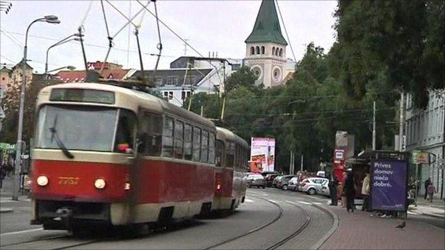 Tram in Slovakia