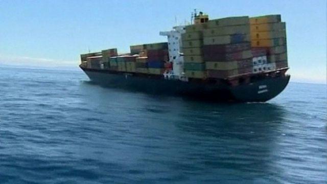 Rena cargo ship