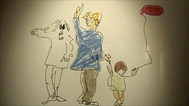 One of Lennon's sketches