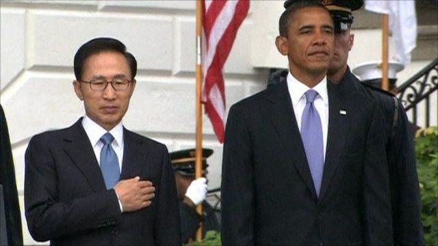 President Lee and President Obama