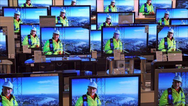 digital television screens