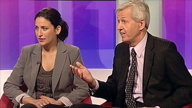 Luciana Berger and Nick de Bois