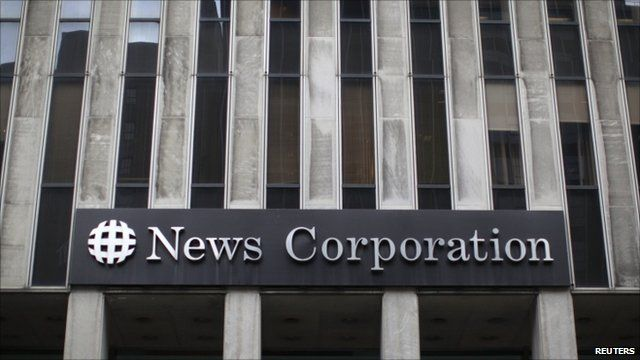News Corporations' office in New York