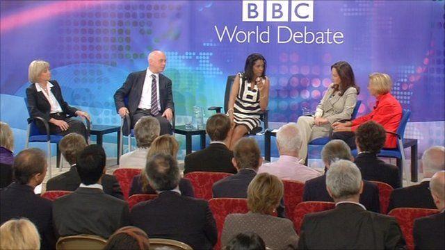 BBC World Debate in Rome
