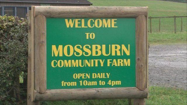 Mossburn sign