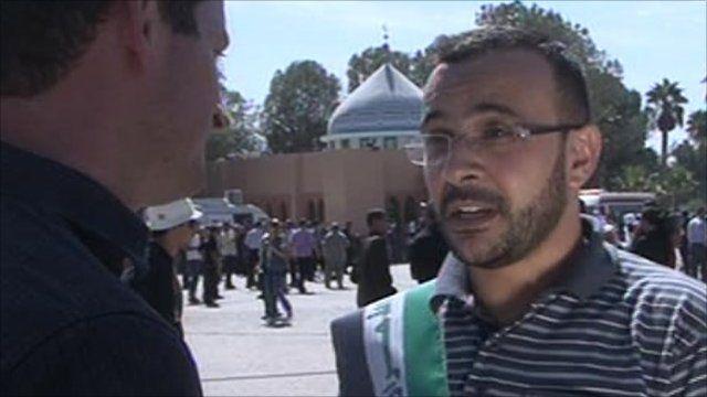 Freed prisoner Ahmed
