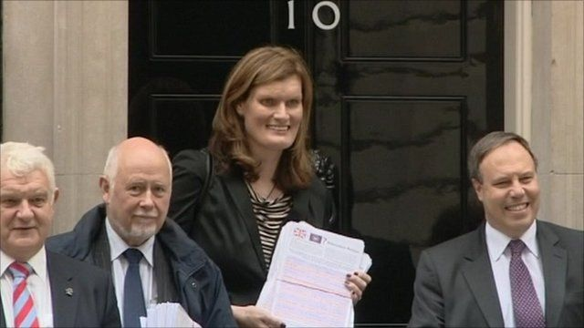 Nikki Sinclaire in Downing Street