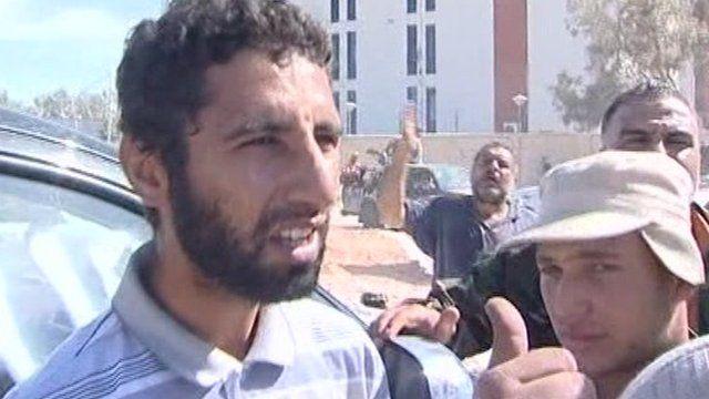 Gaddafi capture 'witness'