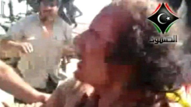 Colonel Gaddafi captured in Sirte
