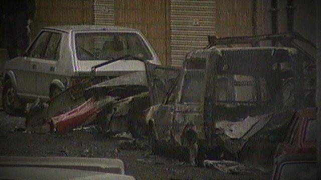 Aftermath of Eta bombing