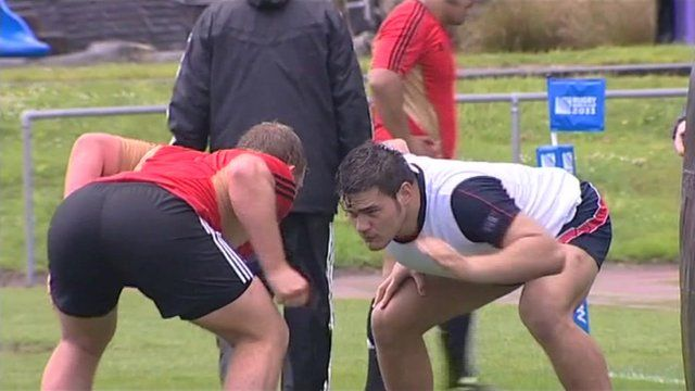 New Zealand's All Blacks prepare for tomorrow's rugby world cup final