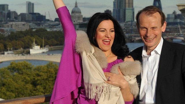 Angela Gheorghiu and Andrew Marr