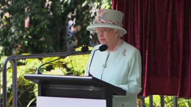 The Queen in Brisbane