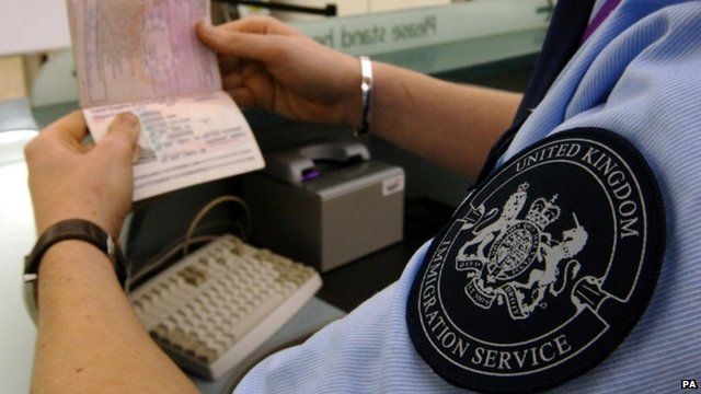 UK Customs officer