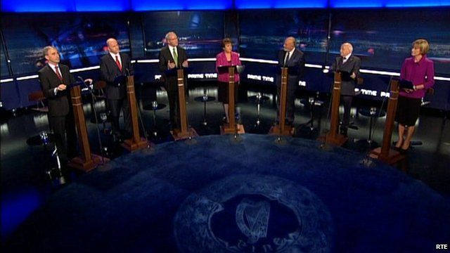 Ireland's presidential candidates