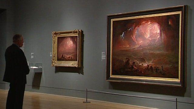 John Martin's Destruction of Pompeii and Herculaneum in Tate Britain