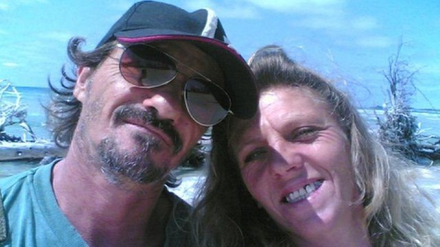 Bruno Pelizzari was captured together with his partner Debbie Calitz