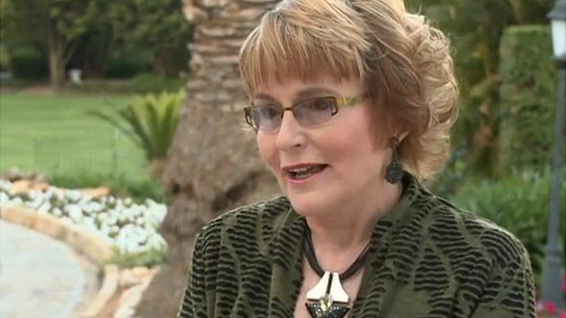 Democratic Alliance President Helen Zille