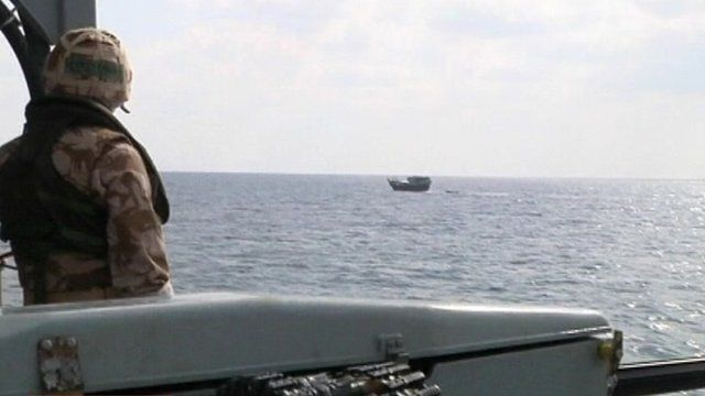Piracy costs the maritime industry millions of pounds every year and the  Royal Navy has become involved in anti-piracy operations in the Indian Ocean