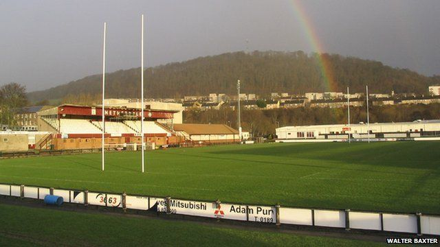 Netherdale rugby pitch