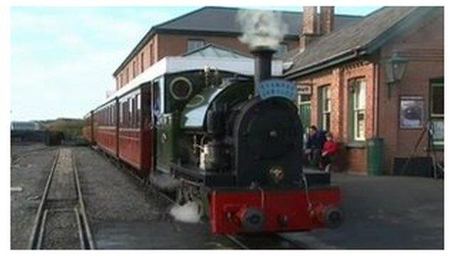 Cafodd y rheilffordd ei hagor ym 1866