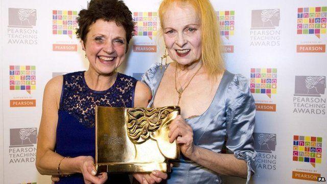 Christine Emmett and Dame Vivienne Westwood
