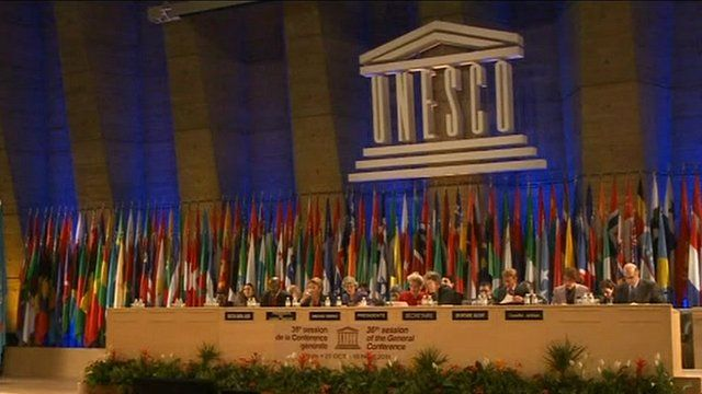 The international panel at Unesco